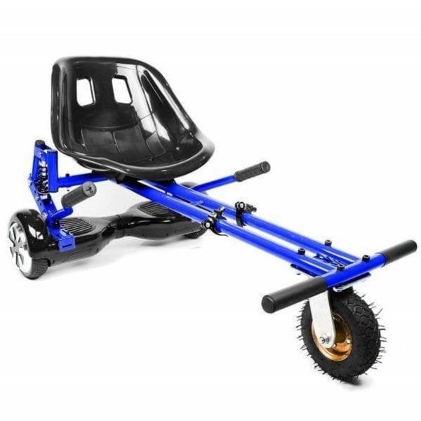 blue suspension hoverkart
